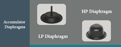 COP accumulator diaphragm