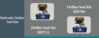 HD709 HD712 HYDRAULIC DRIFTER SEAL KIT