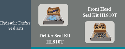 HL810T HYDRAULIC DRIFTER SEAL KIT