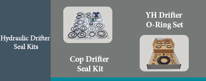 YH - COP HYDRAULIC DRIFTER SEAL KIT